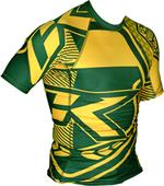 Contract Killer Brazil Short Sleeve Rashguard