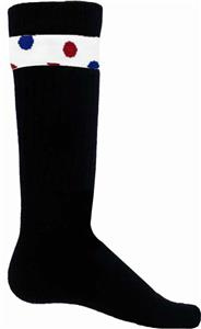 Red Lion Dots Sock/Shin Guard Bands