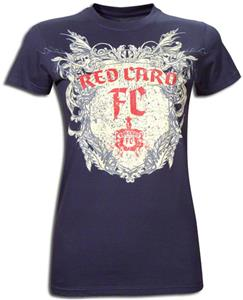 Redcard Football Club Womans Crest T-Shirts