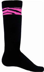 Red Lion Pink Zebra Sock/Shin Guard Bands