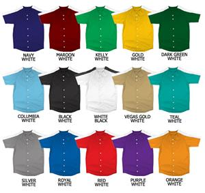 Baseball Double Knit Poly Jersey w/Raglan Sleeves