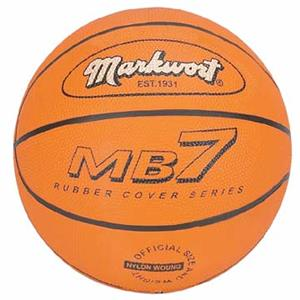 Markwort MB7 Series Rubber Basketballs