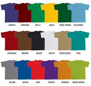 Baseball V-Neck Pullover Dazzle Cloth Jersey