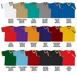 Baseball Pullover Cool Mesh Jersey w/Stripe Trim