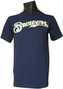 MLB Crewneck Milwaukee Brewers Replica Jerseys