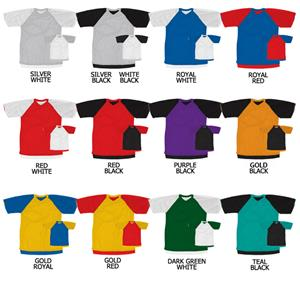 Soccer Tricot Mesh Reversible Jersey Raglan Sleeve