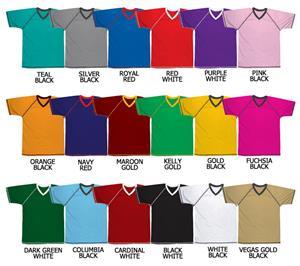 Soccer Dazzle Cloth Jersey Raglan Sleeve