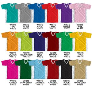 Soccer Dazzle Cloth Jersey Contrasting Panels