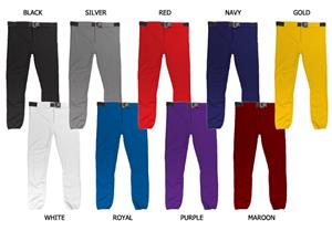 Baseball/Softball Double Knit Polyester Pants-C/O