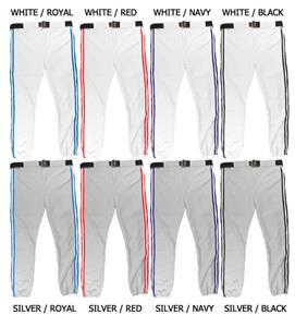 Baseball/Softball Pants with Trim - Closeout