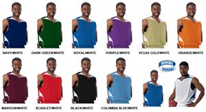 Alleson 555R / 555RY Reversible Basketball Jerseys