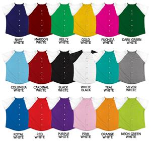 Softball Double Knit Poly Full Button Jerseys