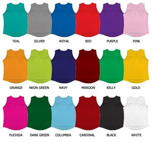 Softball Double Knit Jersey w/V-Neck Collar