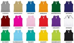 Volleyball Cool Mesh 2 Button Racerback Jerseys
