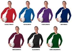 Alleson 826VLJ Women's/Girl's Volleyball Jerseys