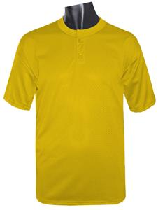 High 5 Mesh Two-Button Baseball Jerseys Closeout