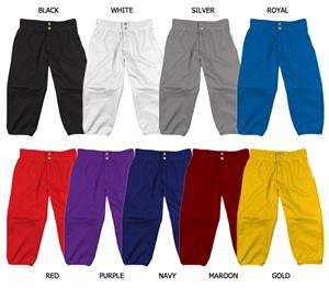 Softball Lowrise Elastic Waistband Pants