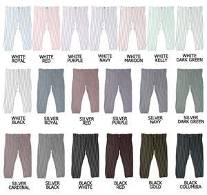 Softball Pro-Style Lowrise Pinstripe Pants