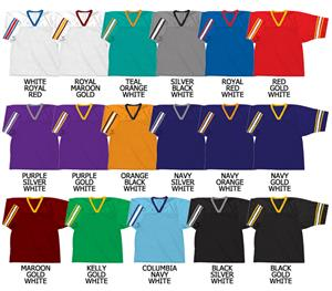 Football Dazzle Cloth/Textured Mesh 2 Color Stripe