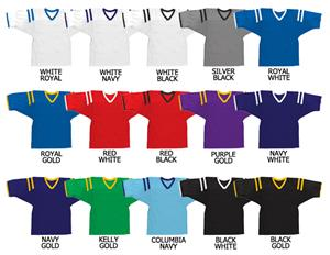 Football All Dazzle Cloth Jersey 3 Color Trims