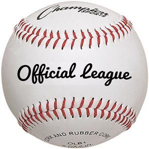 Champion Official League Leather Baseballs (Dozen)