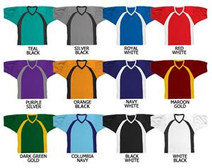 Football All Dazzle Cloth Jersey Contrast Panel