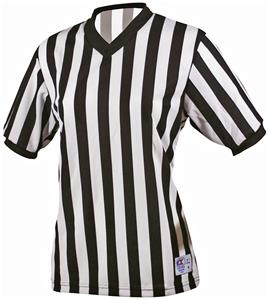 Basketball Officials Womens Ultra Mesh VNeck Shirt