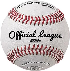 Champion Official League Leather Baseballs (DOZEN)