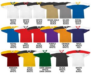 Football All Dazzle Cloth Jersey Contrast Yoke