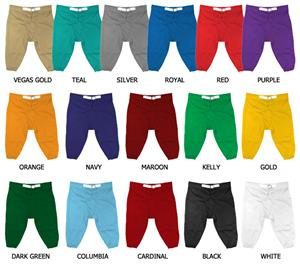 Football Poly Double Knit Rollover Waistband Pants