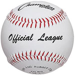 Champion Sports Syntex Leather Baseballs (DOZEN)