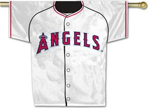 MLB Anaheim Angels 2-Sided Jersey Banner