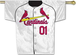 MLB St. Louis Cardinals 2-Sided Jersey Banner