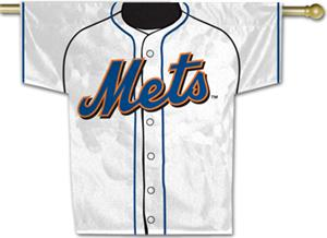 MLB New York Mets 2-Sided Jersey Banner