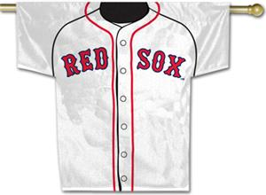 MLB Boston Red Sox 2-Sided Jersey Banner