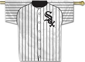 MLB Chicago White Sox 2-Sided Jersey Banner