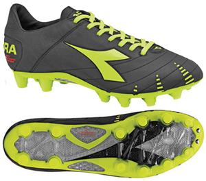 Diadora Evoluzione K Pro GX 14 Soccer Cleats-Black