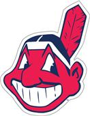 "MLB Cleveland Indians 12"" Die Cut Car Magnets"