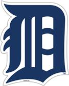 "MLB Detroit Tigers 12"" Die Cut Car Magnets"