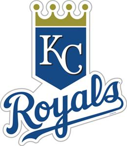 "MLB Kansas City Royals 12"" Die Cut Car Magnets"