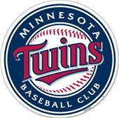 "MLB Minnesota Twins 12"" Die Cut Car Magnets"