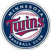 """MLB Minnesota Twins 12"""" Die Cut Car Magnets"""