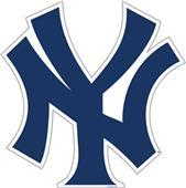 "MLB New York Yankees 12"" Die Cut Car Magnets"