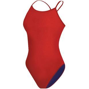 Adoretex Womens Solid Narrow Back 1 Piece Swimsuit