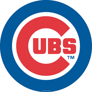 "MLB Chicago Cubs 12"" Die Cut Car Magnets"