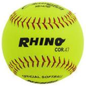 "Champion Sports NHFS 11"" Leather Softballs (DOZEN)"