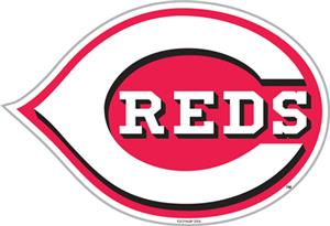 "MLB Cincinnati Reds 12"" Die Cut Car Magnets"