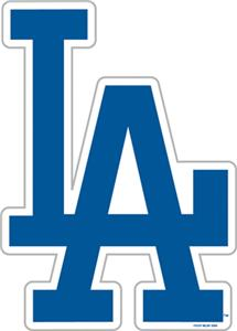 "MLB Los Angeles Dodgers 12"" Die Cut Car Magnets"