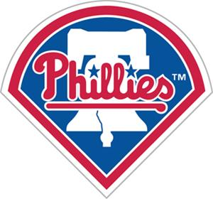 "MLB Philadelphia Phillies 12"" Die Cut Car Magnets"