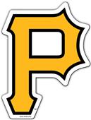 "BSI MLB Pittsburgh Pirates 12"" Die Cut Car Magnets"